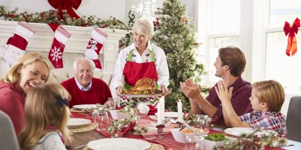 repas de noel en famille