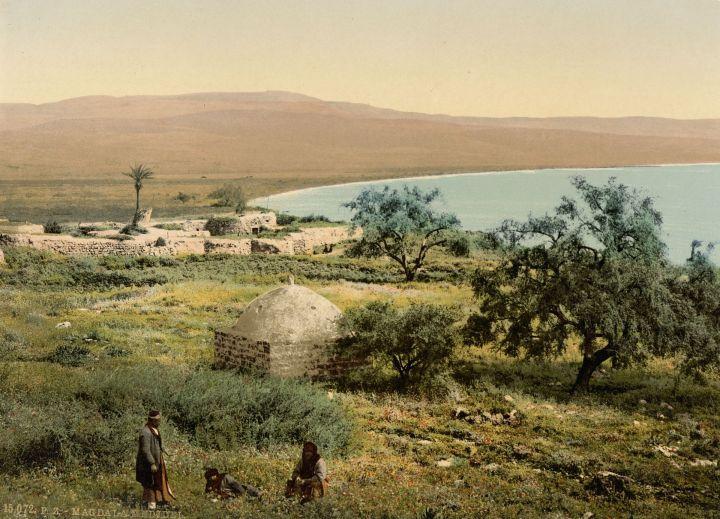 Vue de la ville de Migdal vers 1900 © Wikipedia
