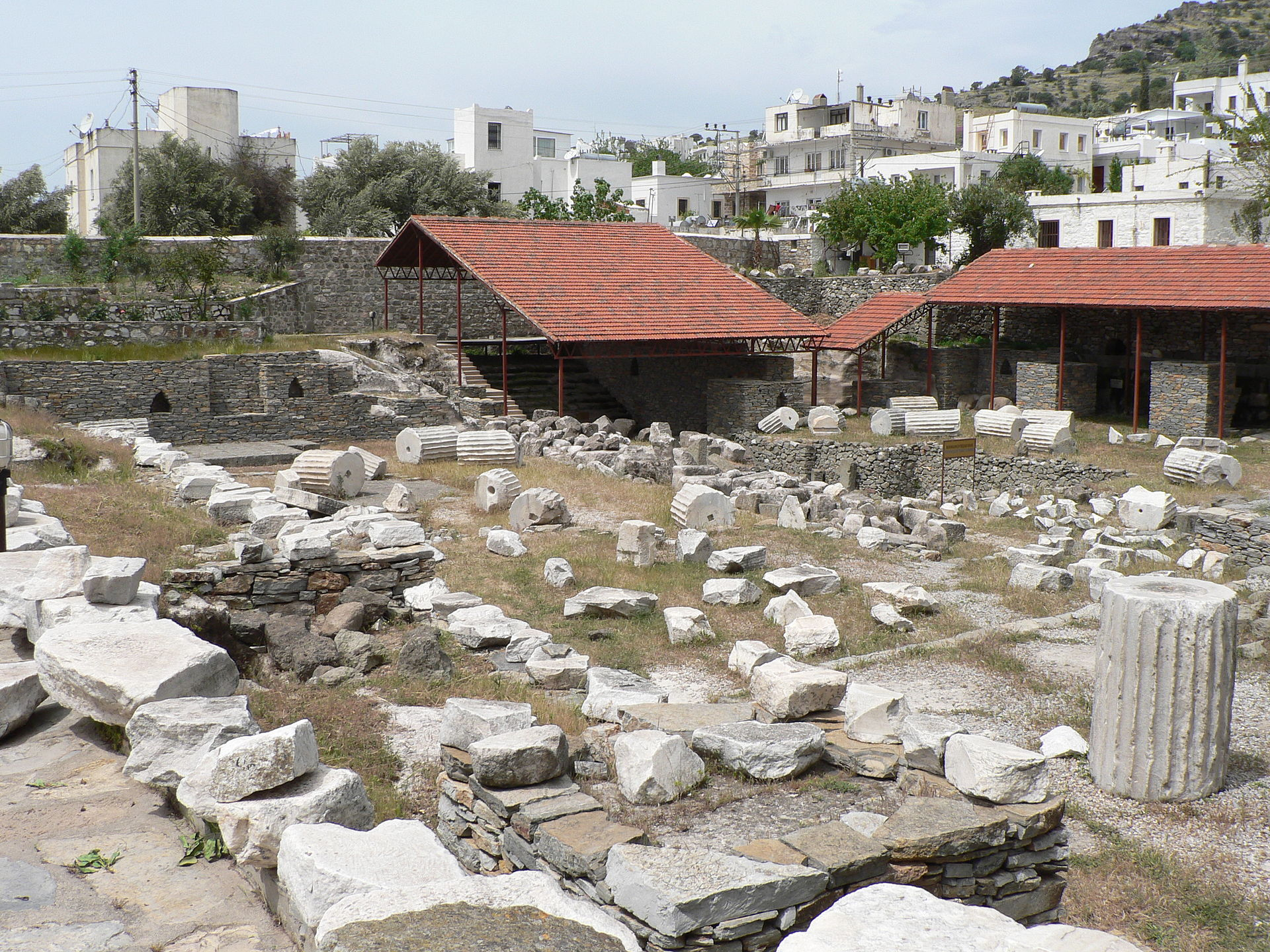 Les ruines aujourd'hui © Wikipedia
