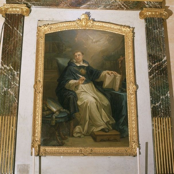 Tableau de frère André : « Saint-Thomas d'Aquin en extase ».