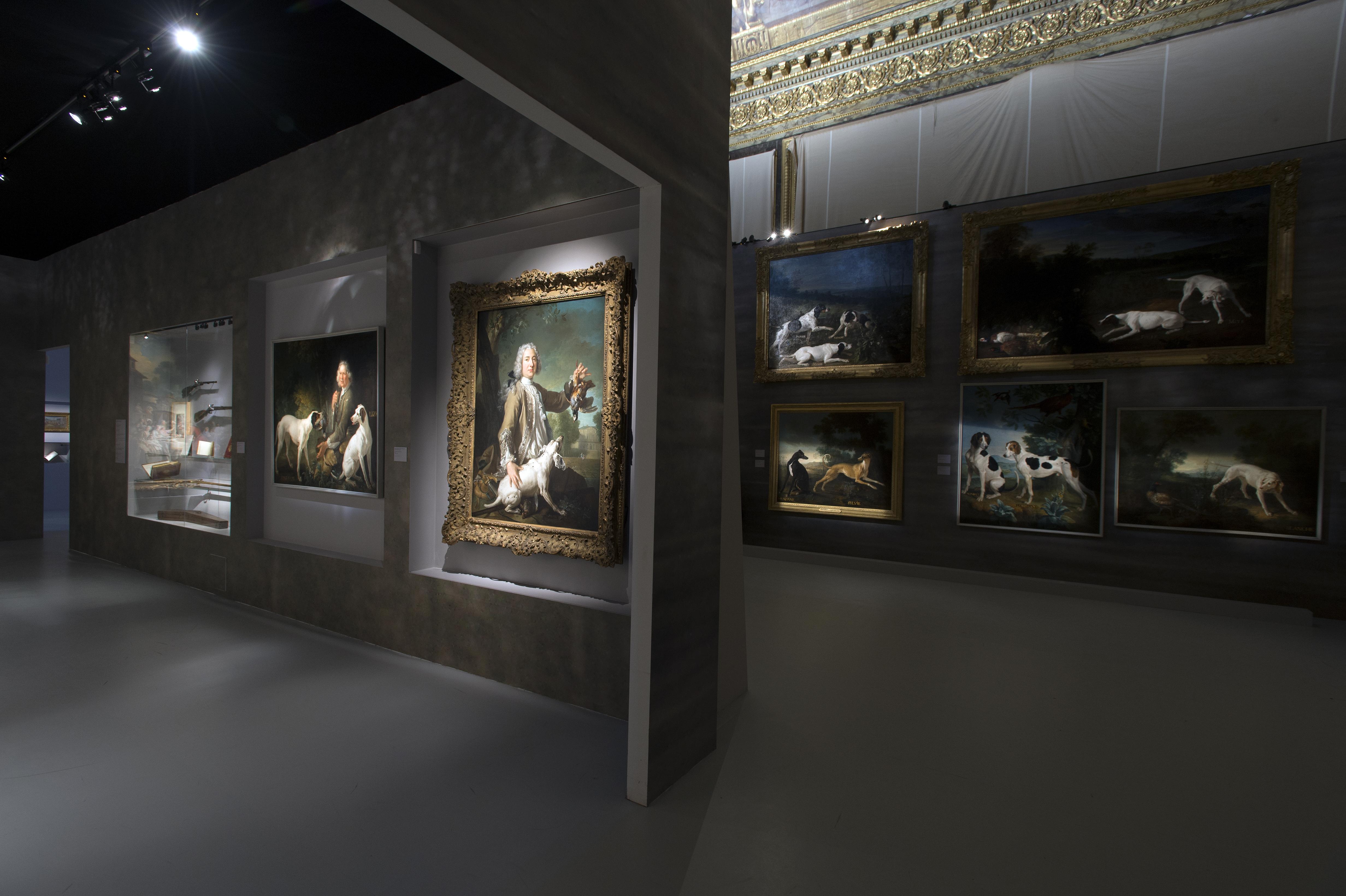 Vue de l'exposition © Château de Versailles, Didier Saunier.