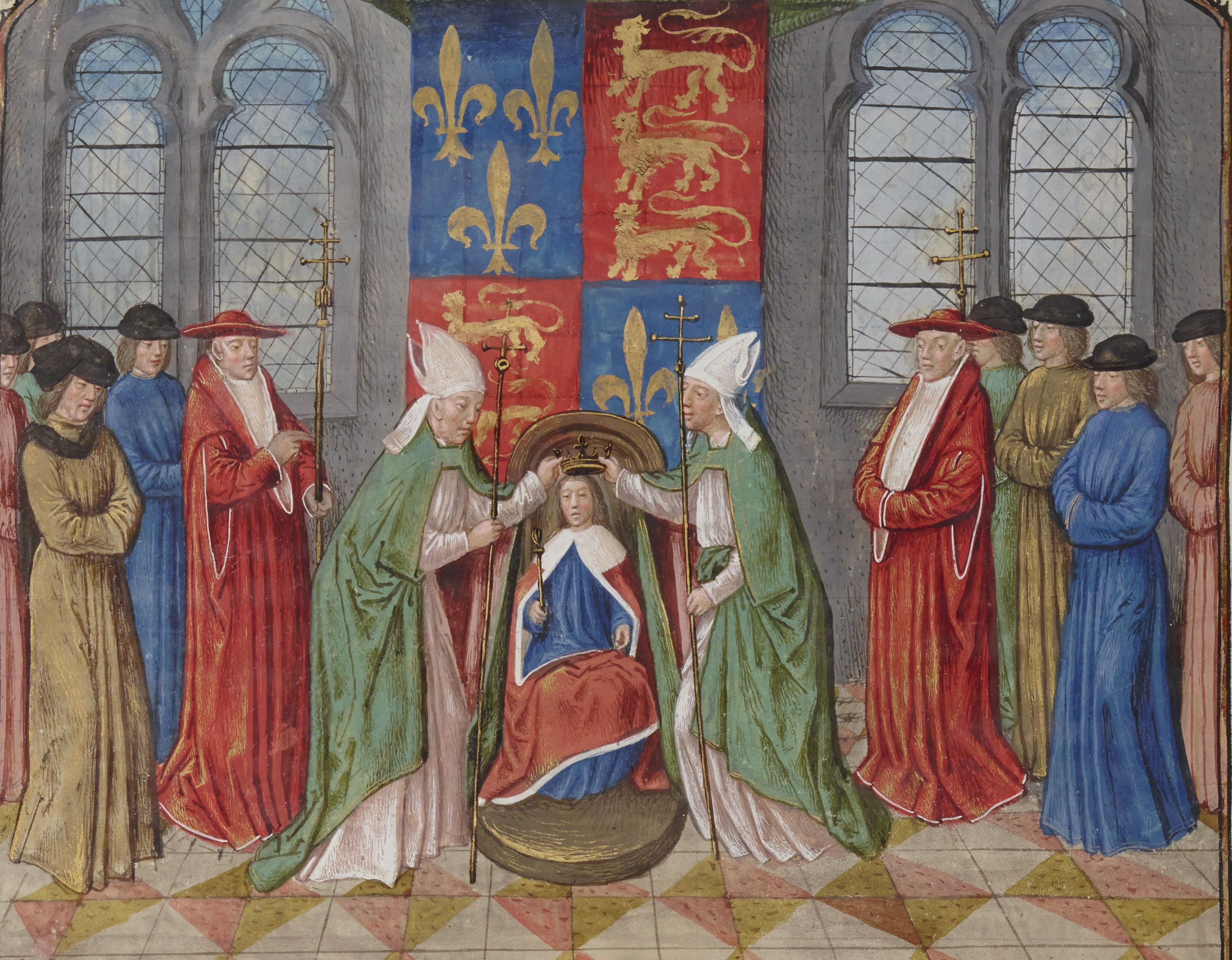 Couronnement de Henry VI à Notre-Dame de Paris