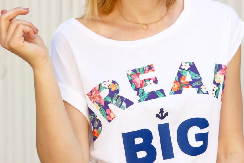 Le t-shirt à message