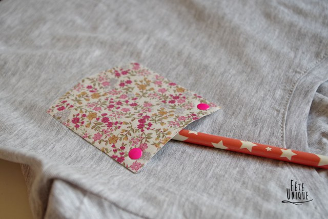 La poche à fleurs