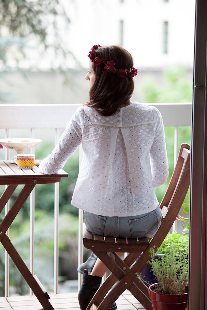 La blouse Violette - Dessine moi un patron / Pretty Mercerie