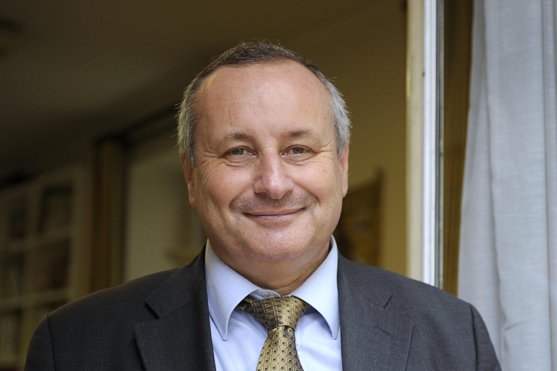 4 novembre 2010: Philippe de LACHAPELLE, Président de l'OCH (Office chrétien des personnes handicapées), Paris (75), France.