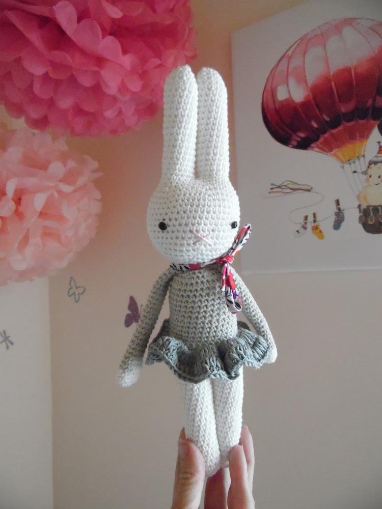 La lapine au crochet