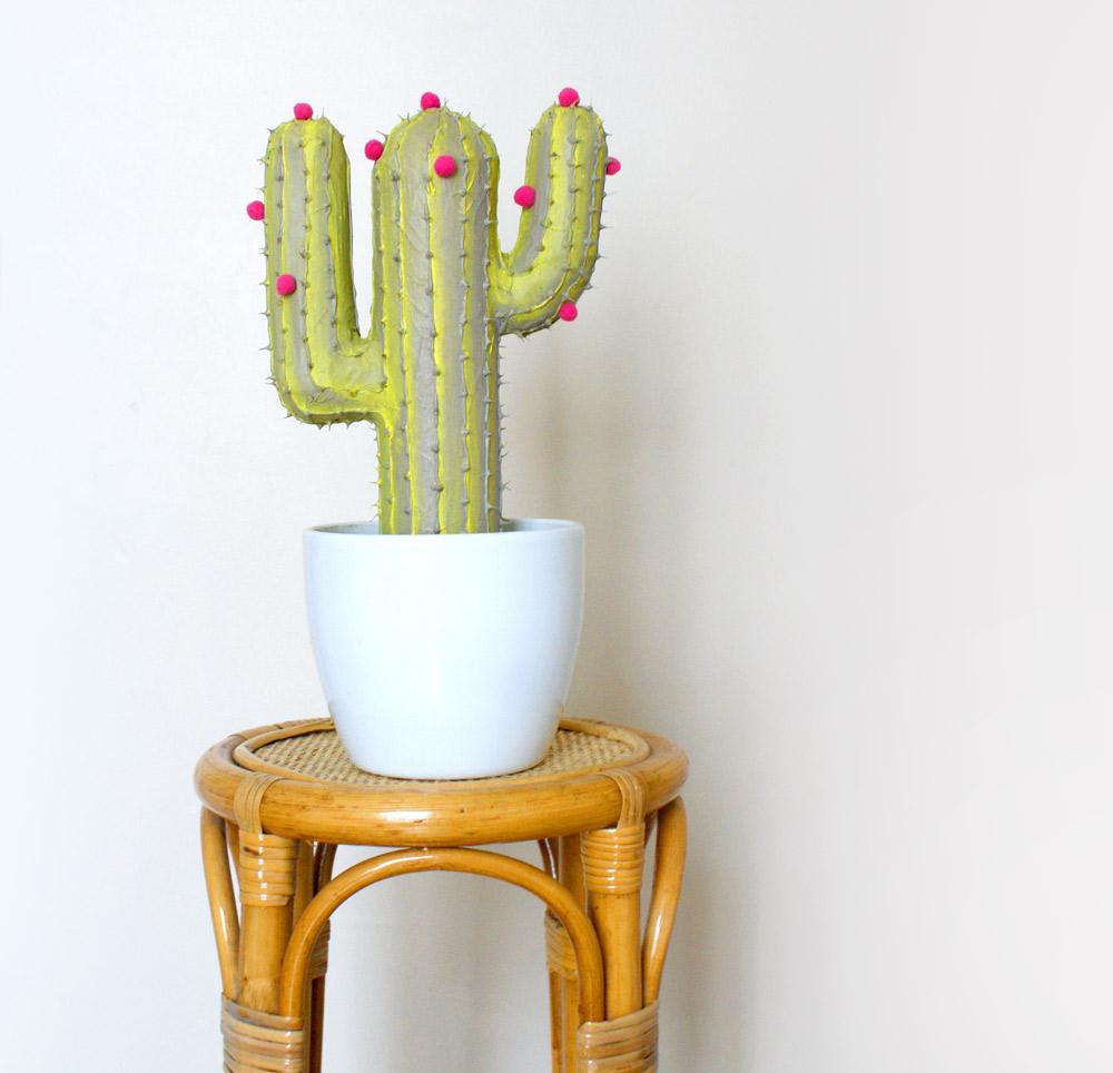 Le cactus en carton