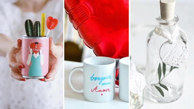 DIY : 8 cadeaux de Saint Valentin à faire soi-même