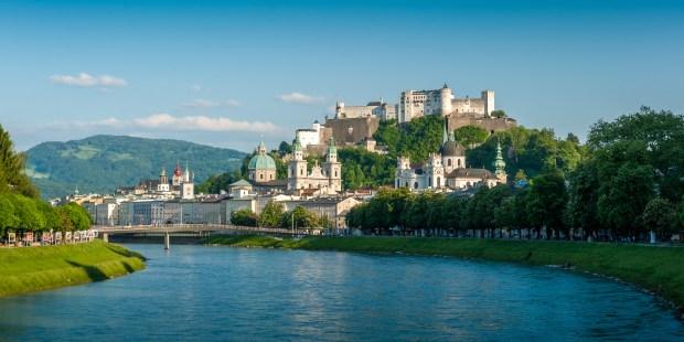 Vue de Salzbourg