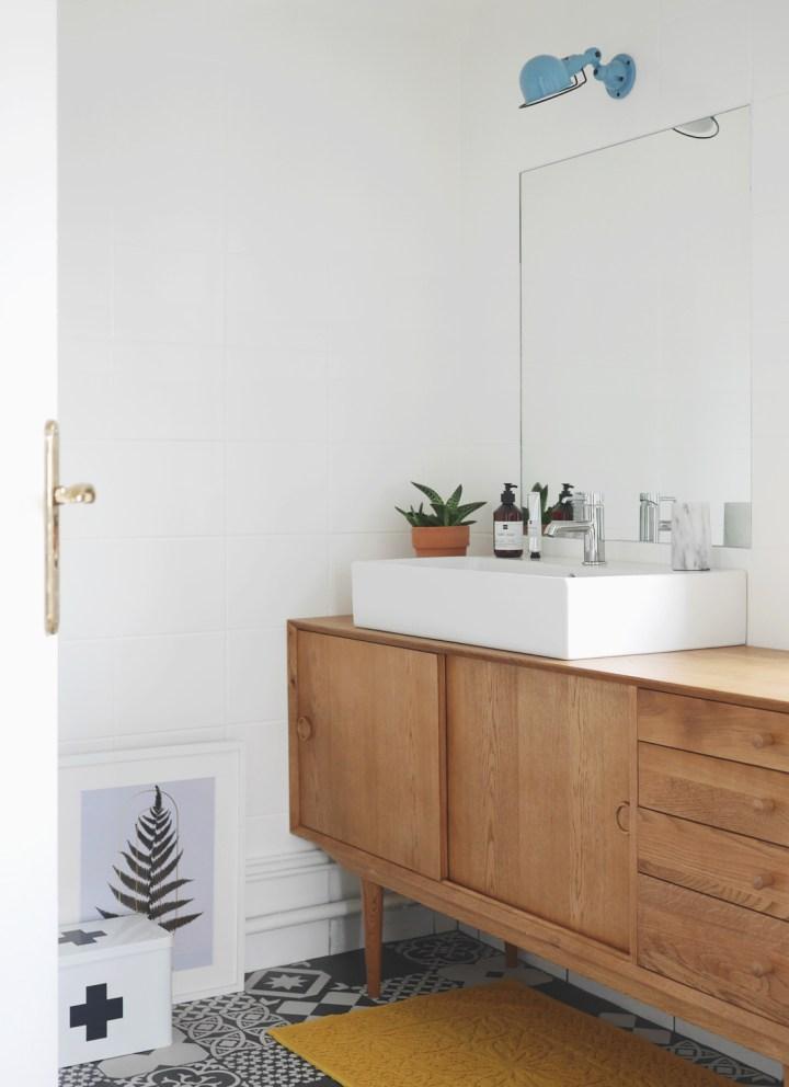 Transformer un buffet en meuble de salle de bains