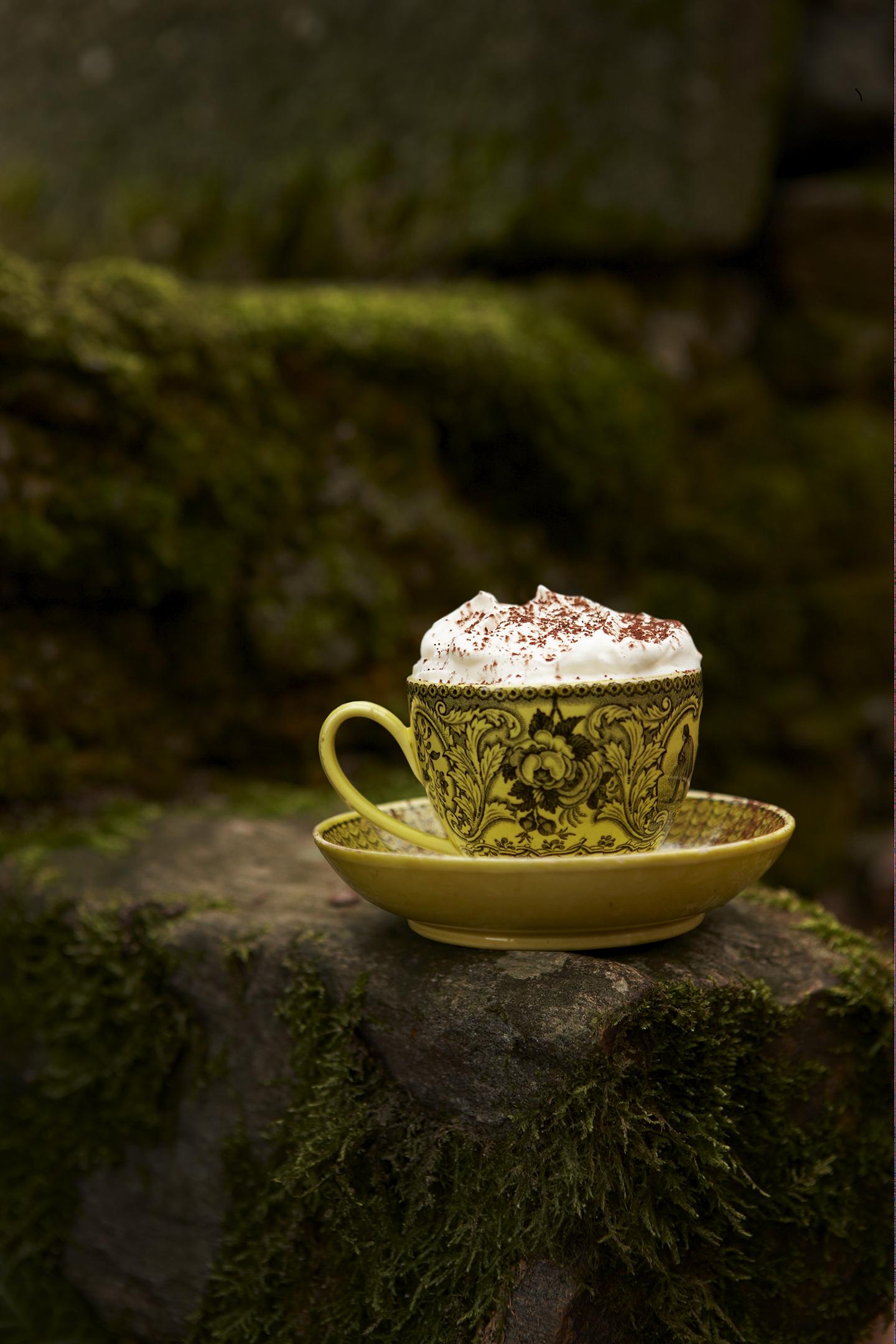 Le cappuccino aux châtaignes