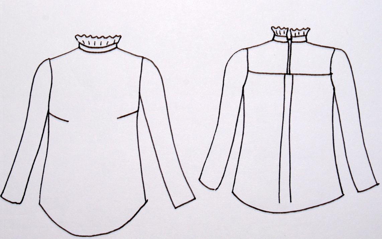 La blouse Dahlia