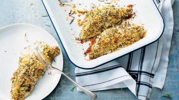 Filets de dorade gratinés à la sicilienne