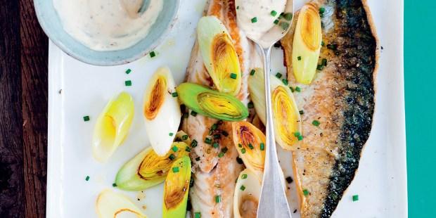 Filets de poisson à la moutarde