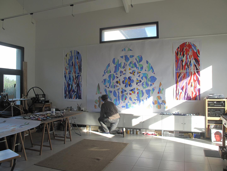 De nouveaux vitraux pour La Chapelle Saint-Philibert