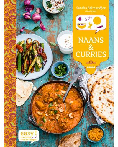 Naan & curries de Sandra Salmandjee