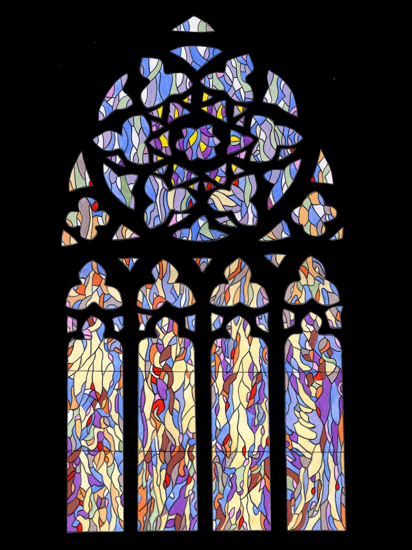 De nouveaux vitraux à la chapelle Saint-Philibert