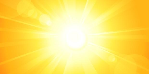 Soleil lumineux