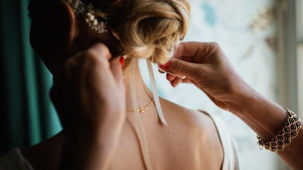 coiffure mariée chignon mariage