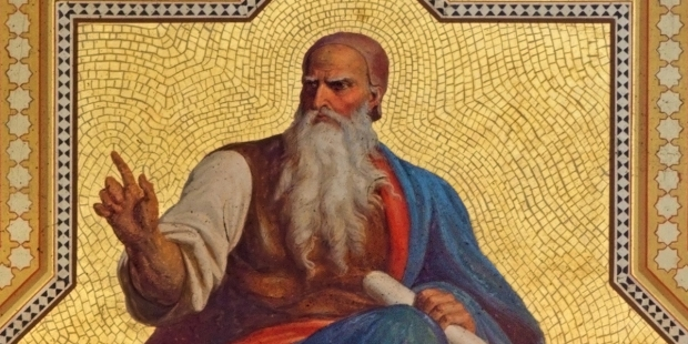 D'origine campagnarde, le prophète Amos (VIIIe siècle avant Jésus-Christ) rappelle au peuple les exigences sociales de la Loi, et défend les droits des plus humbles.