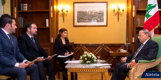 michel aoun, liban, président