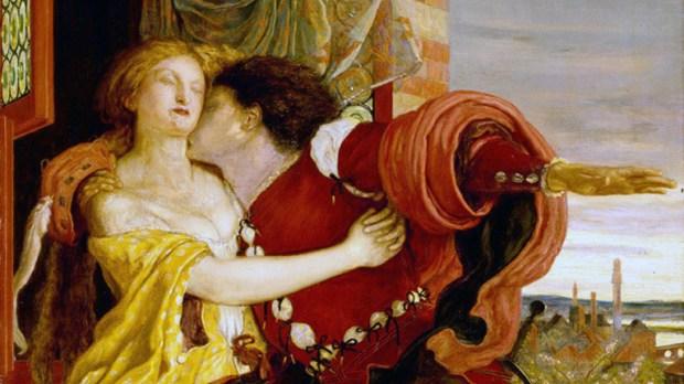 """Roméo et Juliette"" par Ford Madox Brown (1870). © Wikimedia"