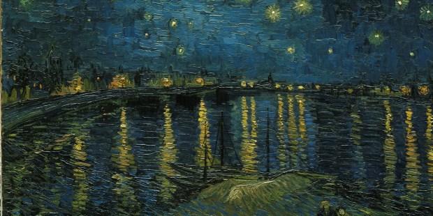 """""""La Nuit étoilée"""" de Van Gogh © Musée d'Orsay"""