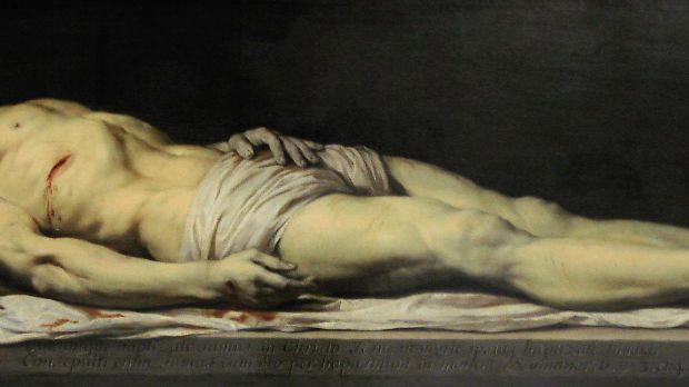 Philippe de Champaigne, le Christ mort sur son linceul, avant 1654Philippe de Champaigne, le Christ mort sur son linceul, avant 1654
