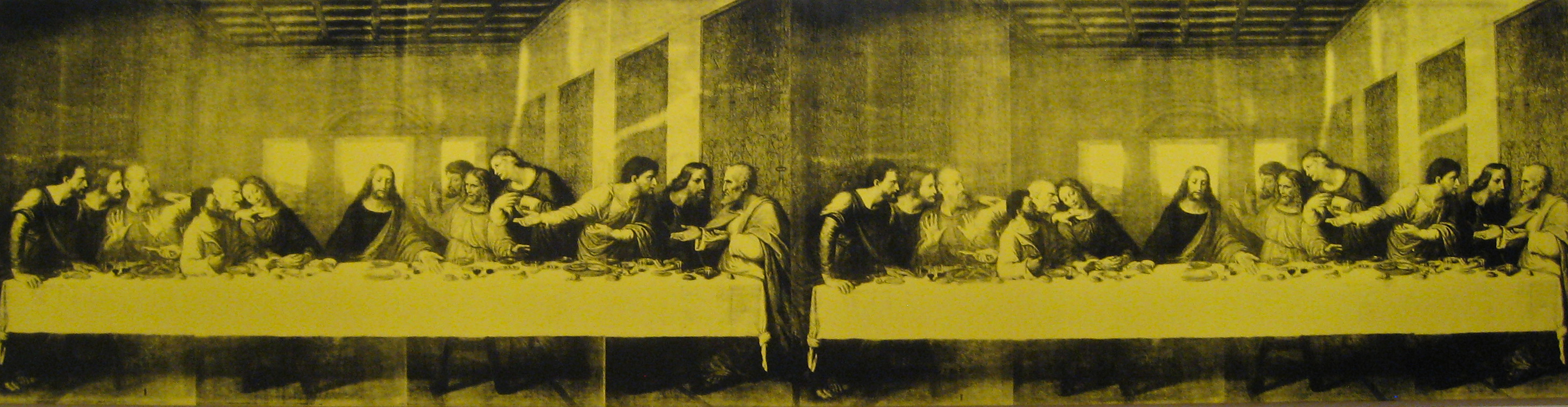 Andy Warhol, The Last Supper, 1986, acrylique et sérigraphie sur lin, The Baltimore Museum of Art, Baltimore © Sharon Mollerus