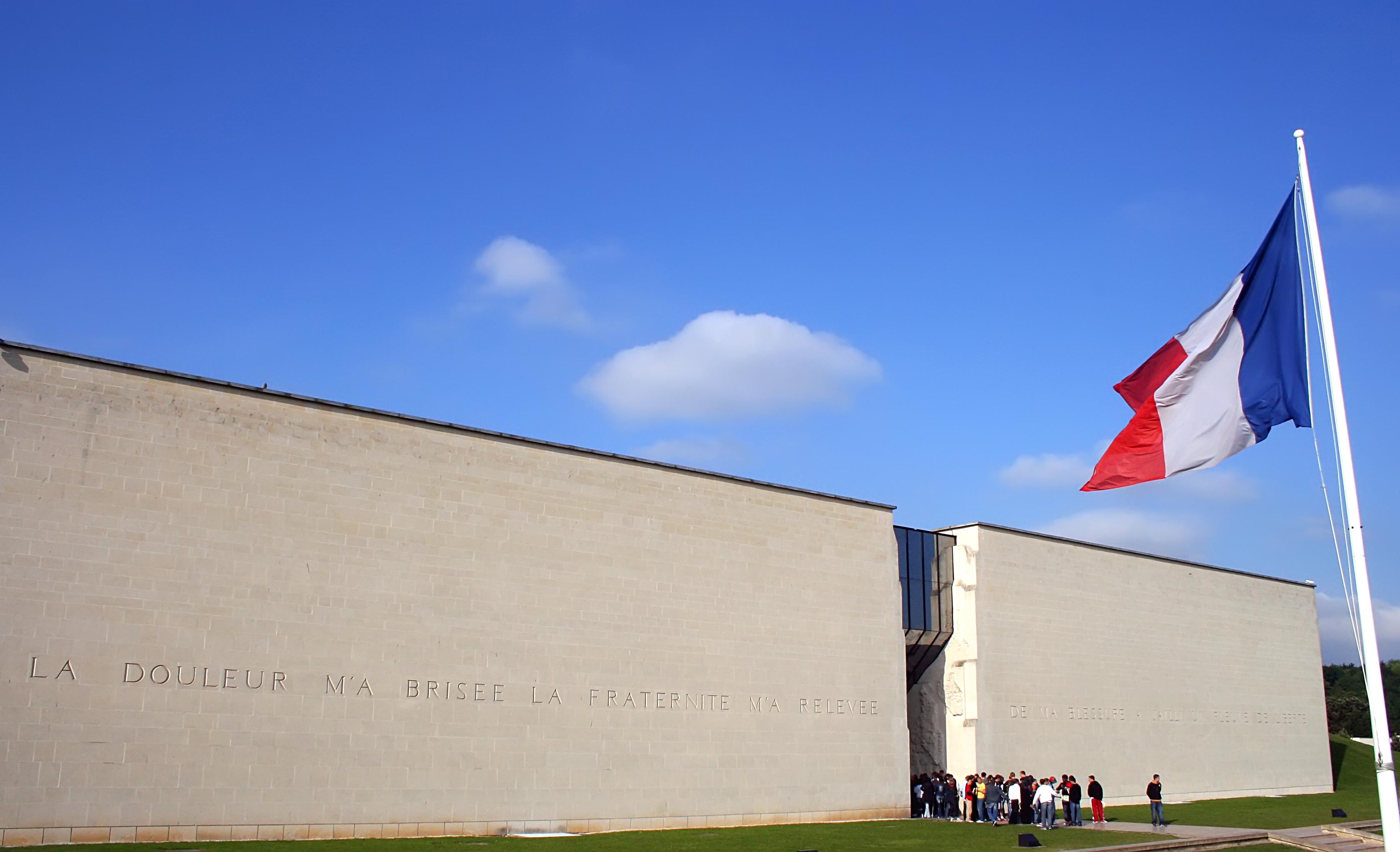 Caen, musée mémorial du débarquement