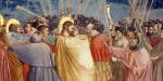 Le Baiser de Judas, par Giotto di Bondone, entre 1304 et 1306 © Wikimedia