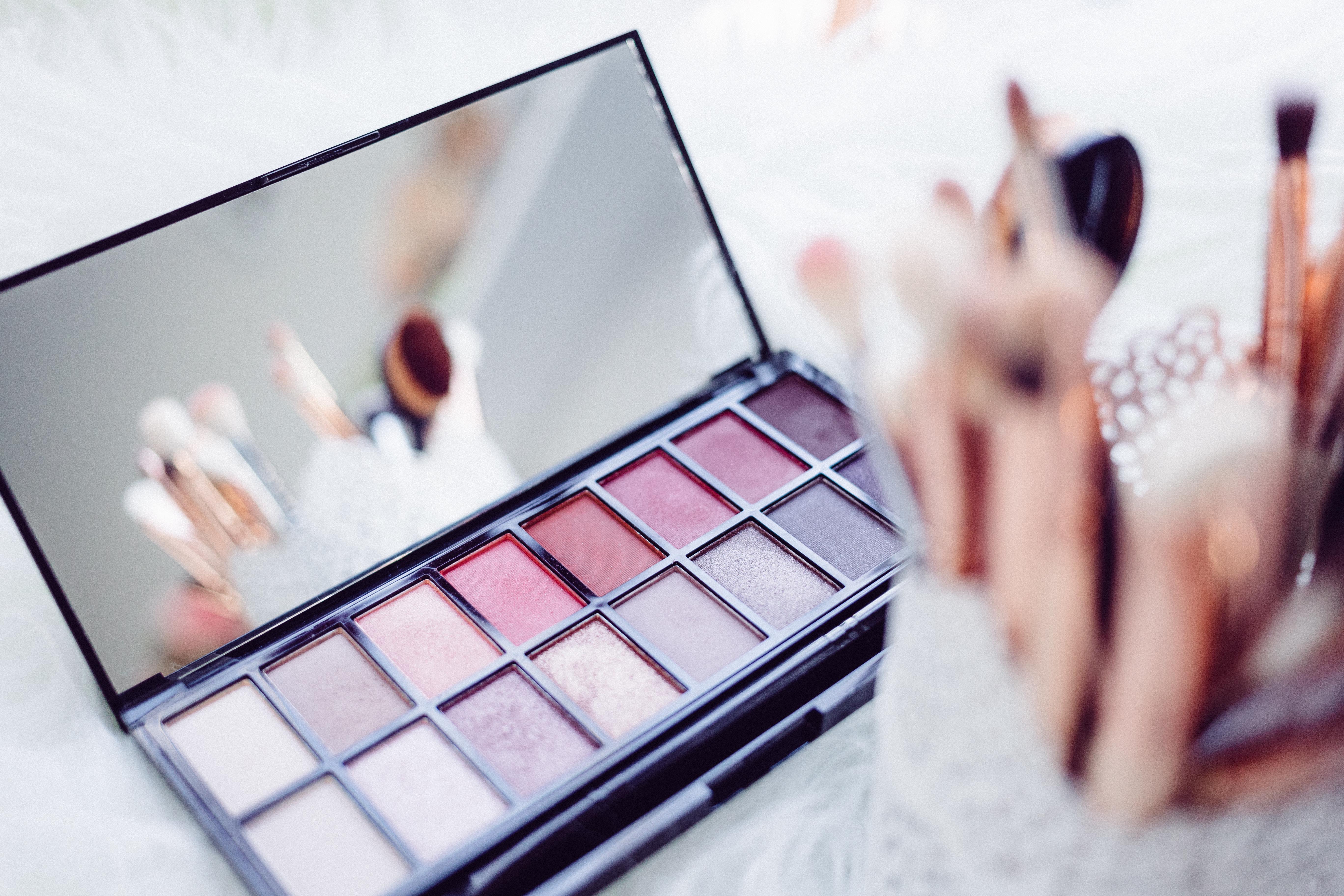 palette maquillage tendance printemps 2017 rose poudré