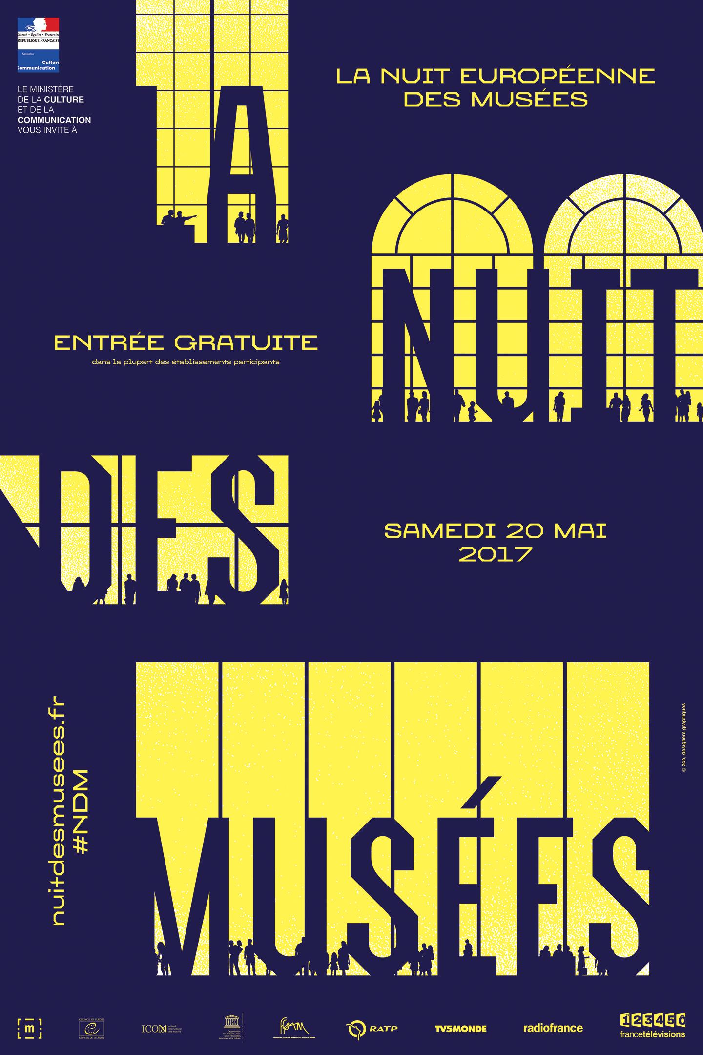 Nuit européenne des musées 2017