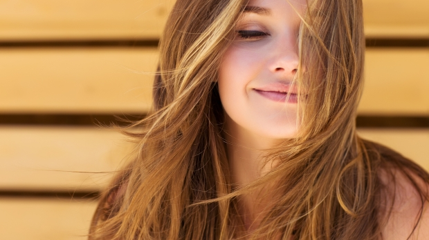 Jeune femme belle