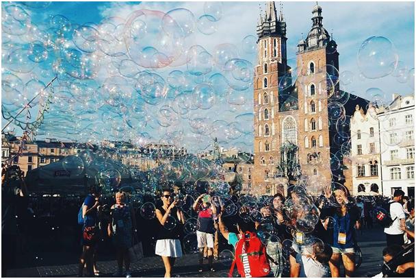 Cracovie pendant les JMJ 2016