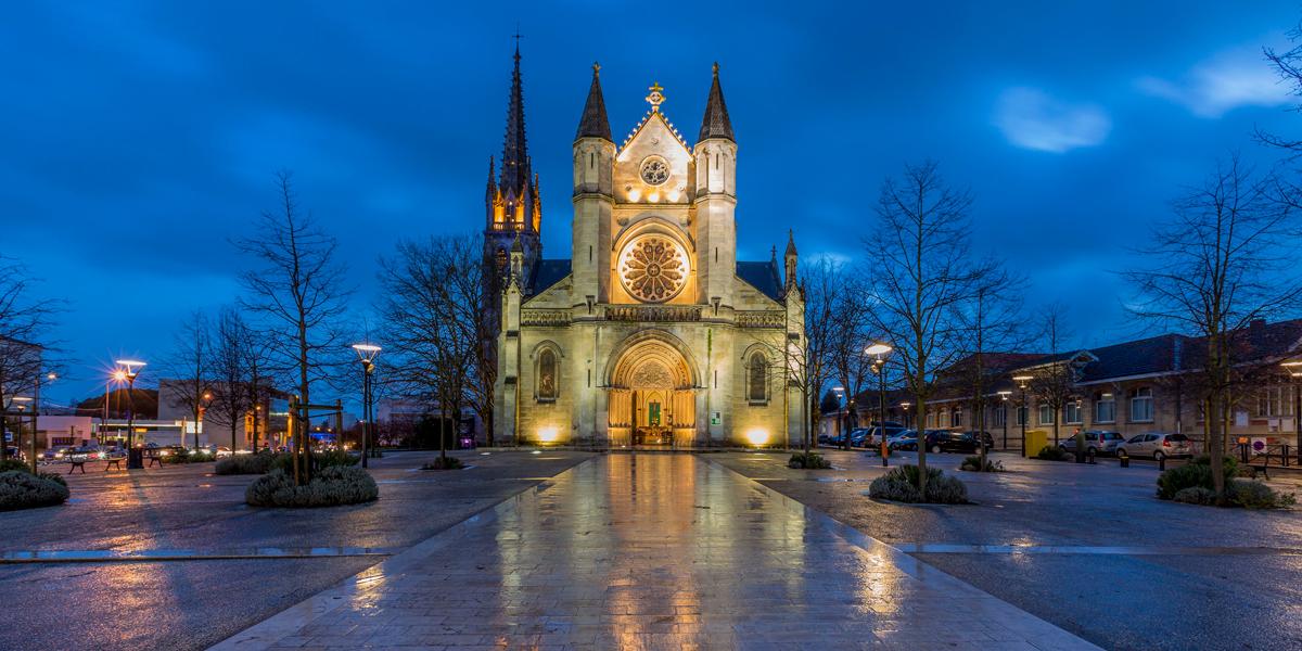 L'église Saint-Amand, à Bordeaux. © BOULOUMIE ERIC / HEMIS.FR / HEMIS / AFP