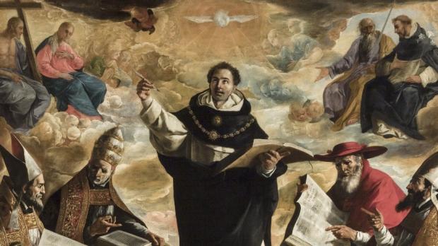 Zurbaran, St Thomas d'Aquin © Wikimedia