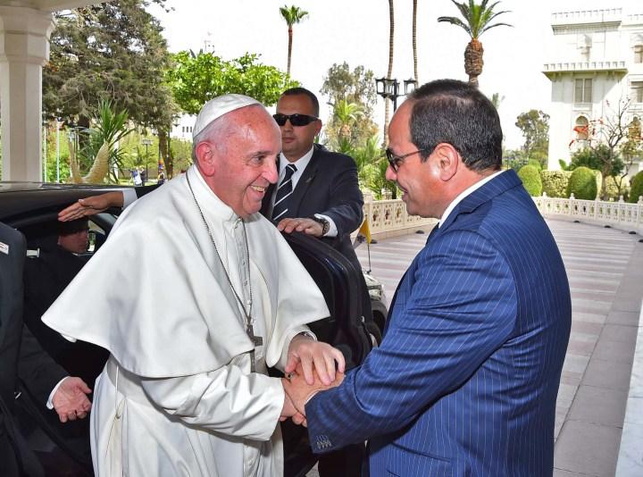 POPE FRANCIS;EGYPT;ABDEL FATTAG AL SISI