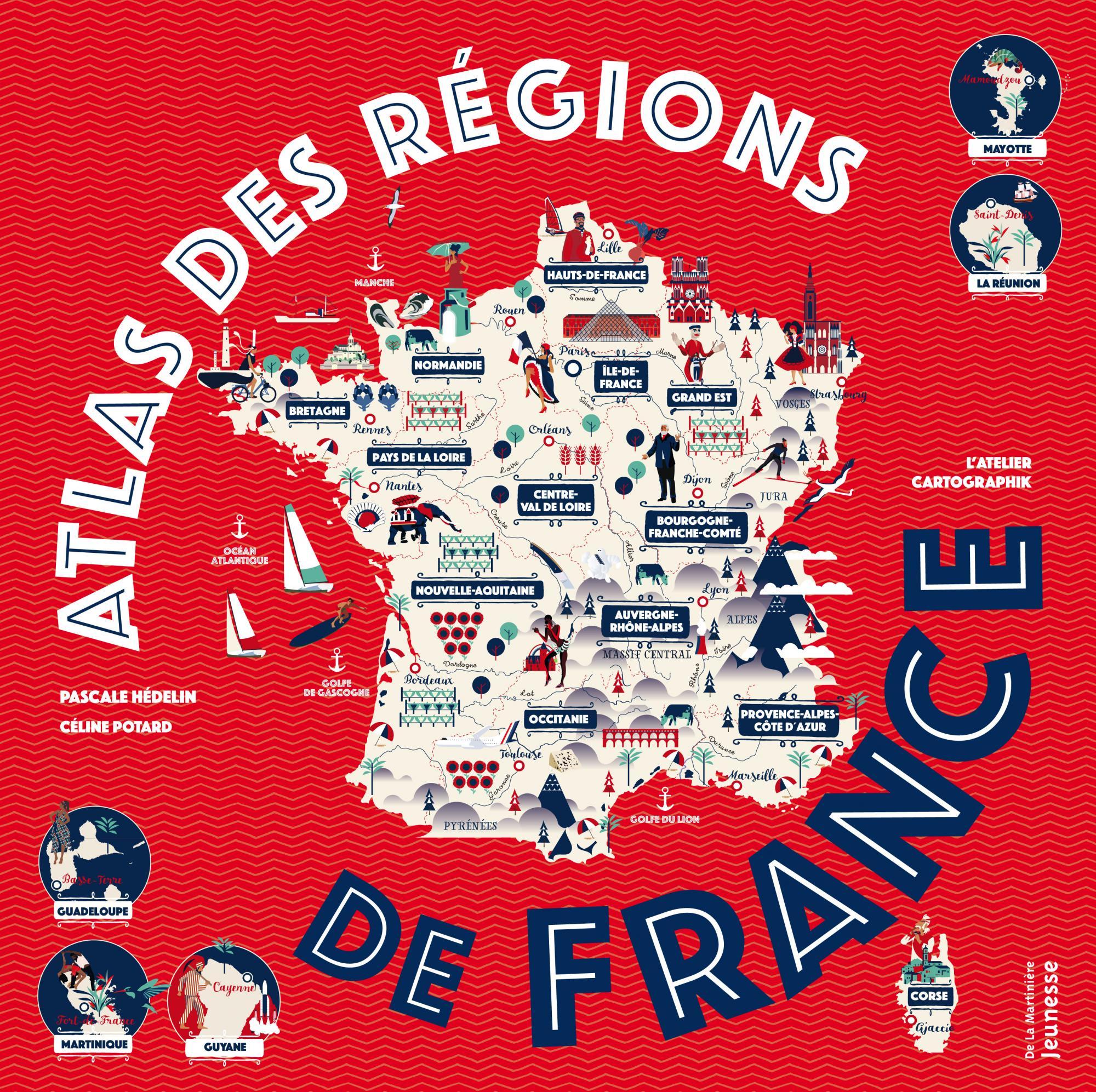 ATLAS REGIONS DE FRANCE