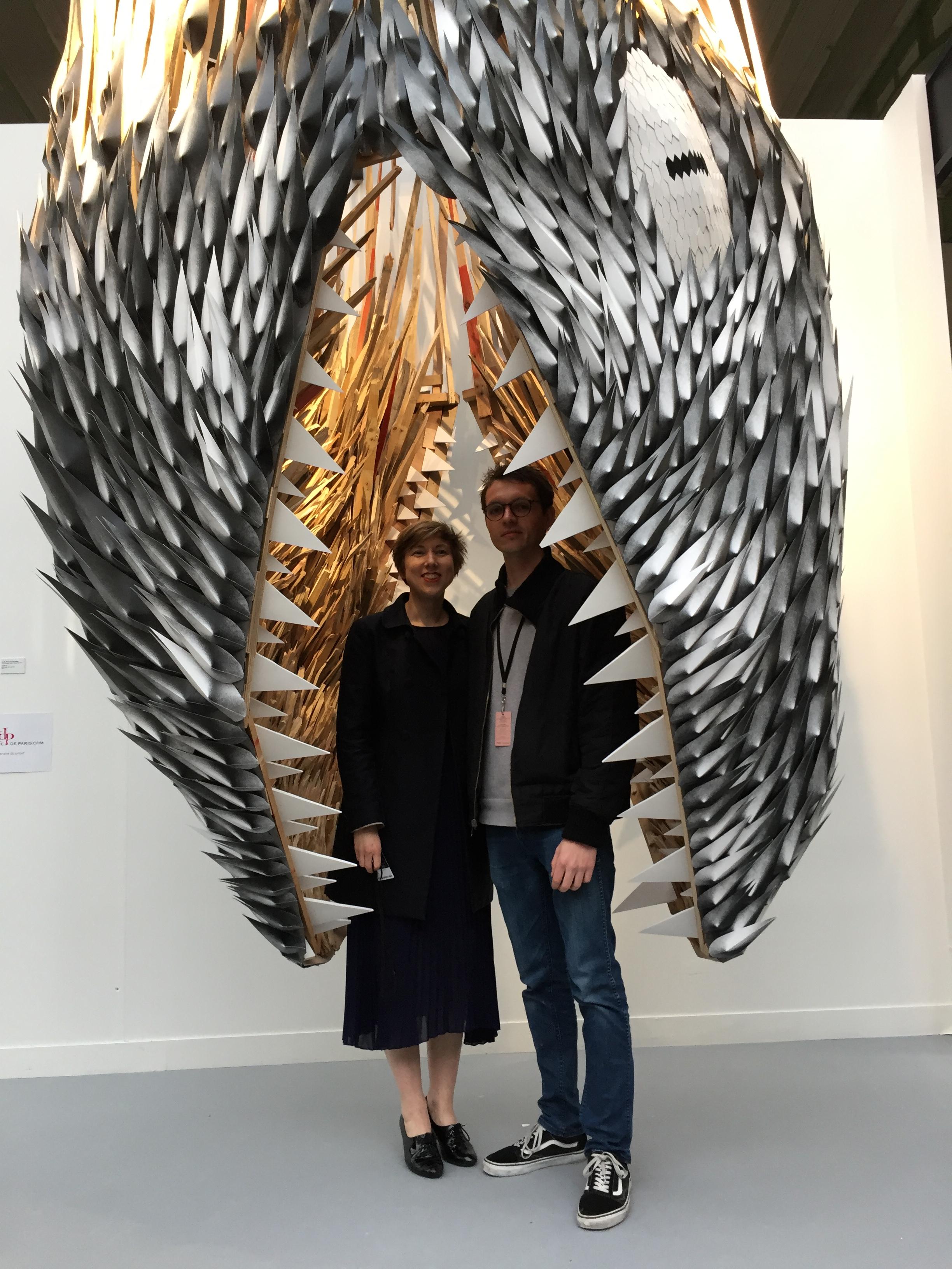 Camille Bellot et Paul Bouteiller
