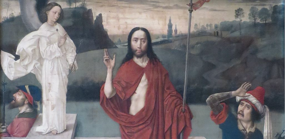 LA RESURRECTION DU CHRIST PAR DIERIC BOUTS
