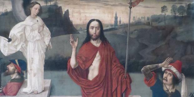LA RESURRECTION DU CHRIST PAR DIERIC BOUTS