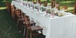 TABLE DE RECEPTION DE MARIAGE