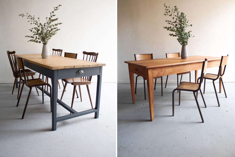 un meuble ancien en bois