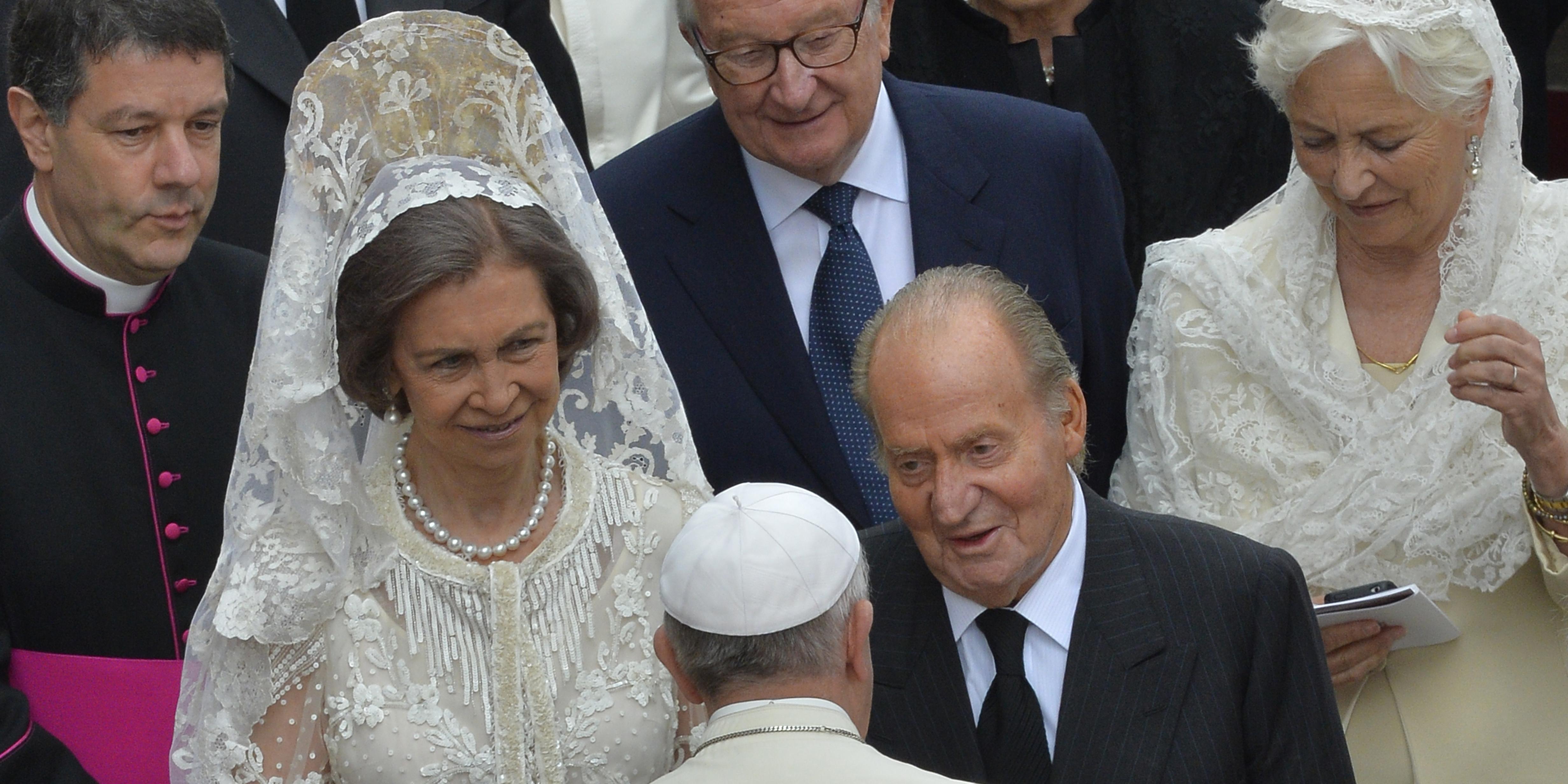 SPAIN ROYAL POPE
