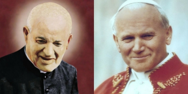 JOHN PAUL II GEORGES PRECA