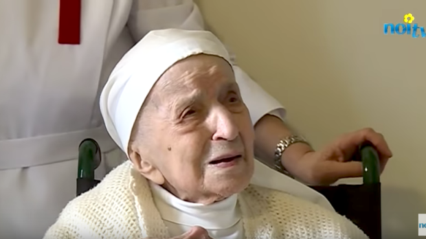 CANDIDA BELLOTTIITALY; LUCCA; SISTER; CANDIDA BELLOTTI; 110 YEARS; OLD