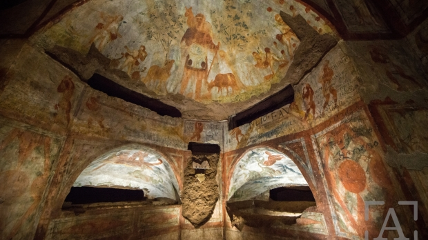catacombes de Domitille