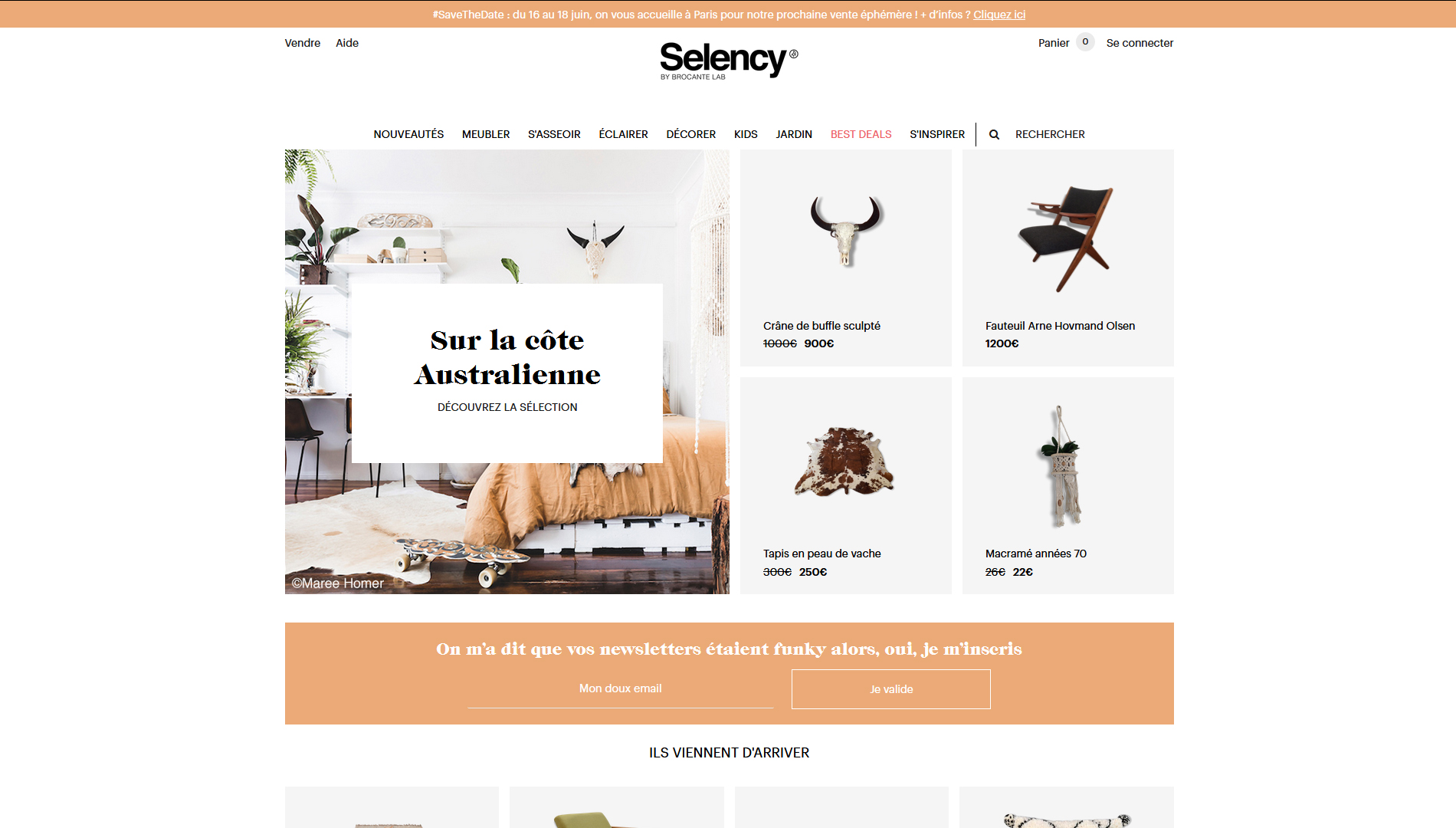SITE SELENCY BY BROCANTE LAB